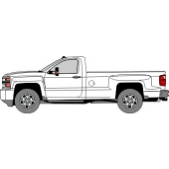 14-18 CHEVROLET SILVERADO 3500 Regular Cab