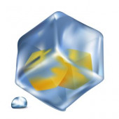 Image Details Ing 38192 22613 Realistic Blue Ice Cubes